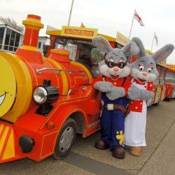 west sands bunni train